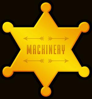 Machinery - star badge