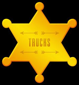 Trucks - star badge