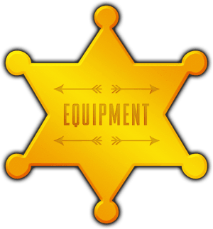 Big Chief Hire Equipment star badge