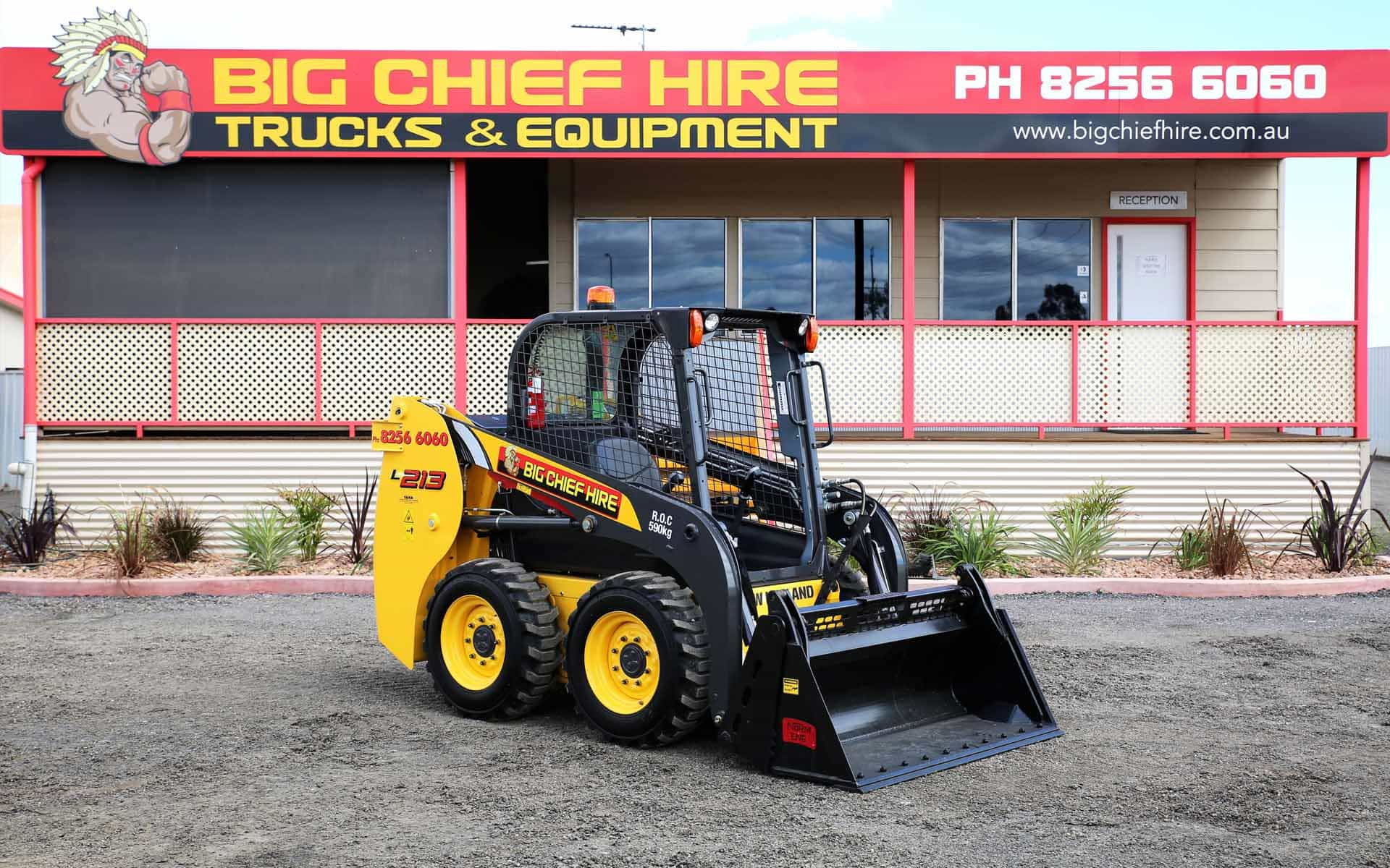 Big Chief Hire Skid Steer