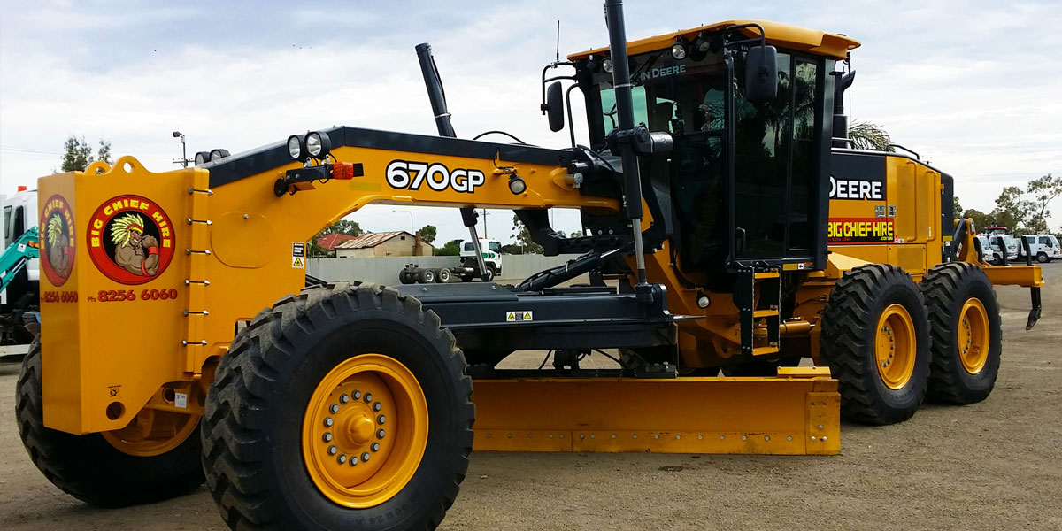 Big Chief Hire Grader 670GP
