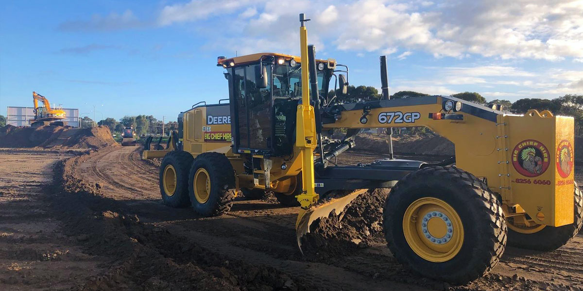 Big Chief Hire Grader 672GP