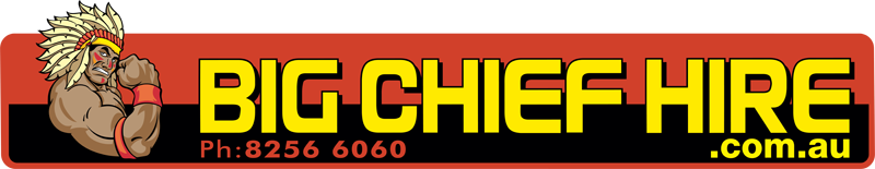 Big Chief Hire Logo - Truck Hire, Machinery and Equipment Hire